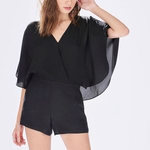 """Parker """"Vicky"""" Romper in Black size Small"""